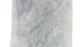 Tempête de neige, acrylique sur toile, encadrement en mousse polyéthylène