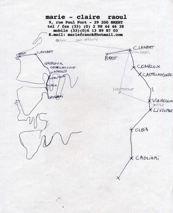 Itinéraire du maillot de bain américain, Marie-Claire Raoul