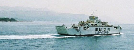 Ferry Ancône (Italie)-Split (Croatie), compagnie maritime Jadrolinia, Marie-Claire Raoul