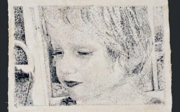 Peinture Alix à Kerzafloc'h, vue de 3/4, Marie-Claire Raoul