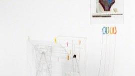 Conversation entre Ian et moi, installation réalisée chez Yan (Ian), © Yan Bohac