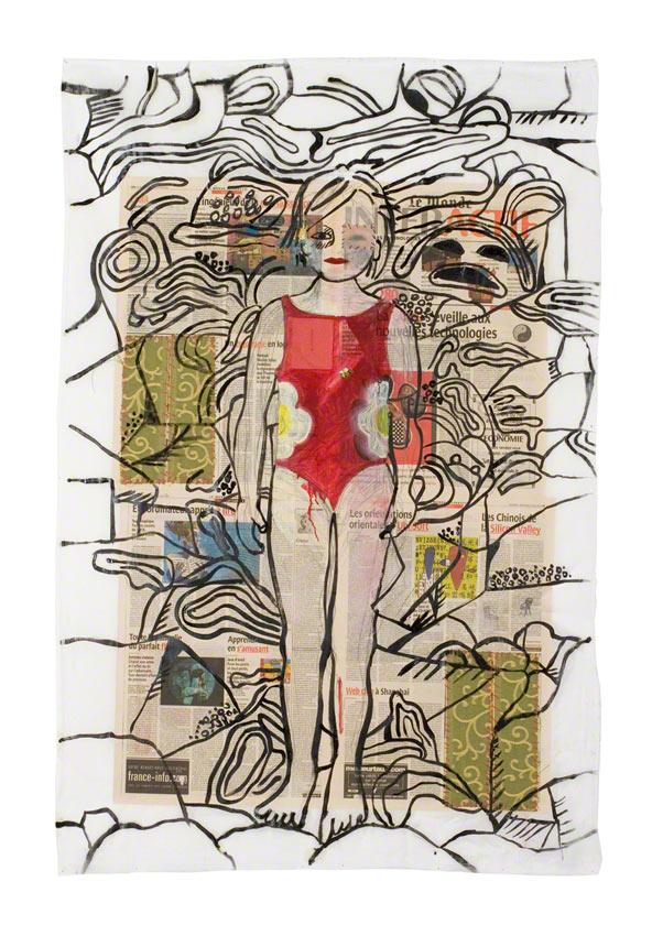 Ce qui me reste en mémoire, techniques mixtes, Marie-Claire Raoul