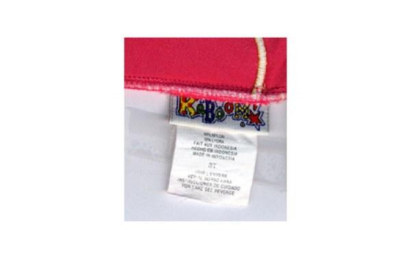 Étiquette du maillot de bain américain, Marie-Claire Raoul