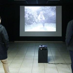 Projection vidéo [Entretiens avec Alix], PLM Pilier Rouge