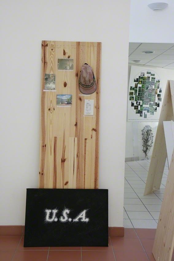U.S.A. : le séjour de Franck à Ogden (Utah), installation, Marie-Claire Raoul