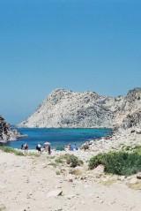 Sardinia, pebble beach, July 2001