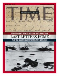 "29th May 2000 cover of the weekly ""Time"", Memorial Day Special"