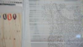 Vue de l'exposition [Le maillot de bain américain], Milizac, février 2011