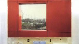 Mon cœur bat toujours aussi fort, peintures, photographies de Jérémie et Alix à Combloux et au parc de La Villette à Paris, petit matériel électronique, assemblage avec résine époxy