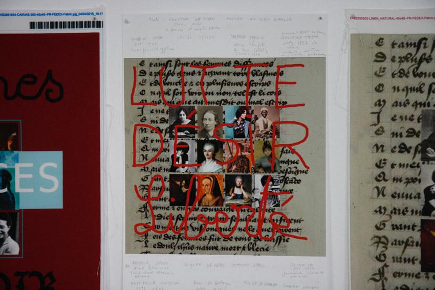 Atelier Femme à histoire, histoires de femmes, espace Lcause, montage, lutte, désir, liberté