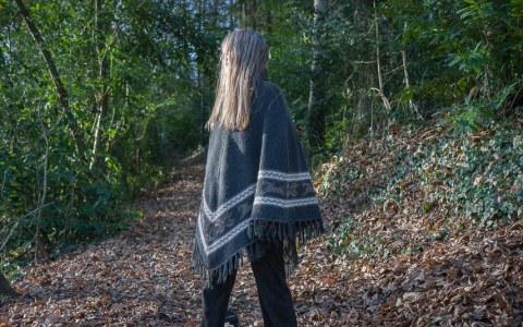 Marie-Odile, bois de Kerhoual, 24 janvier 2017, Marie-Claire Raoul