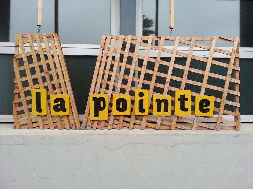 Résidence de l'artiste Marie-Claire Raoul au local de la Pointe pour la Maison de la Fontaine à Brest du 18 janvier au 9 mars