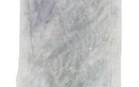Tempête de neige, acrylique sur toile, encadrement en mousse polyéthylène, Marie-Claire Raoul
