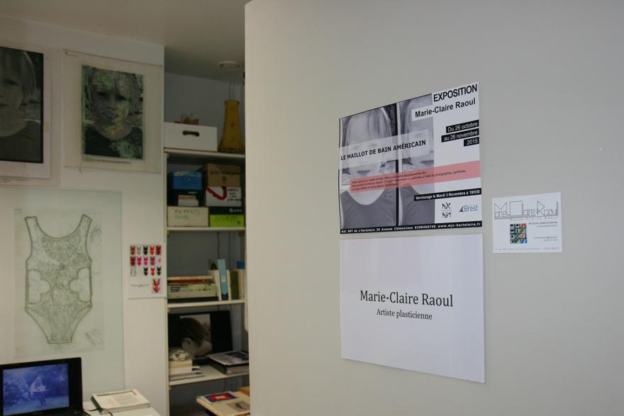Atelier de marie-Claire Raoul à l'espace associatif L'cause à Brest