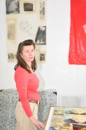 Portrait de Marie-Claire Raoul réalisé par Josiane Quillivic