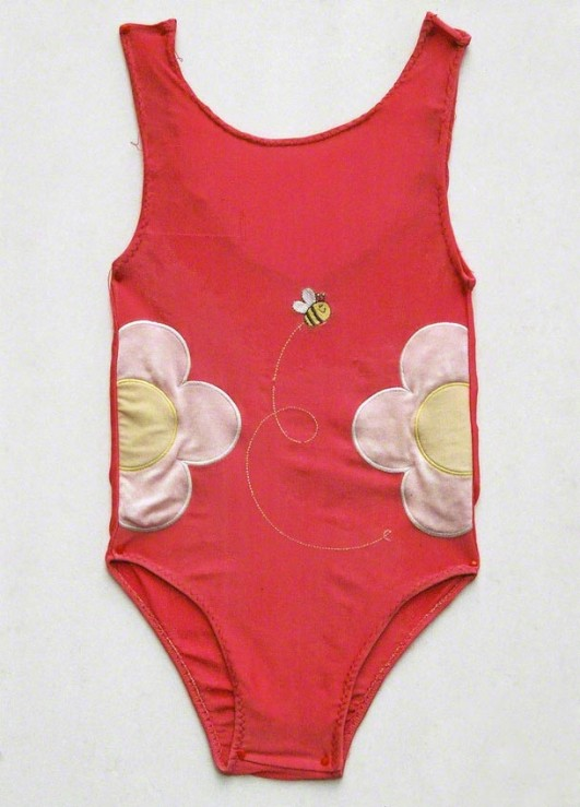 Photograph of the american bathing suit itself
