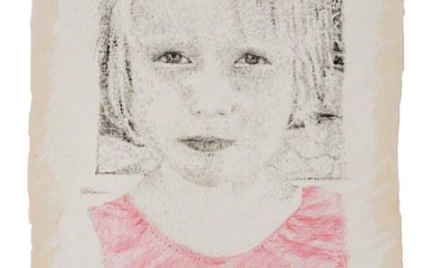 Peinture Alix de face, Marie-Claire Raoul