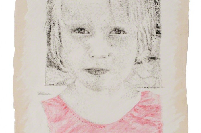 Peinture Alix de face
