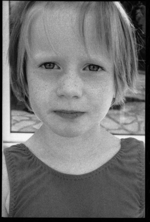 Alix à Kerzafloc'h, vue de face, juillet 2000