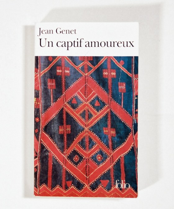 A Prisoner of Love, Jean Genet, Gallimard publishers, 1986., Marie-Claire Raoul