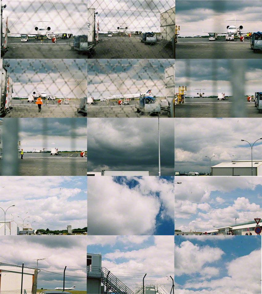 Décollage du vol AF 00032X le 20 juillet 2006, aéroport de Brest, voyage, Marie-Claire Raoul