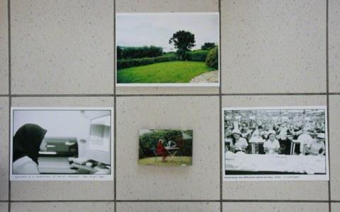 [Le rêve] - Vue d'exposition, Milizac, février 2011, Marie-Claire Raoul