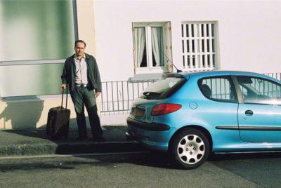 Franck et la Peugeot 206, rue Paul Fort, simulation du départ, vue 1