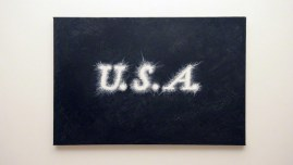 U.S.A., oil on canvas, 75cm*55cm