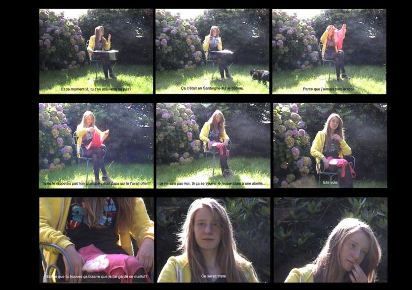 Storyboard de l'entretien avec Alix le 26 août 2010, planche 2, Marie-Claire Raoul