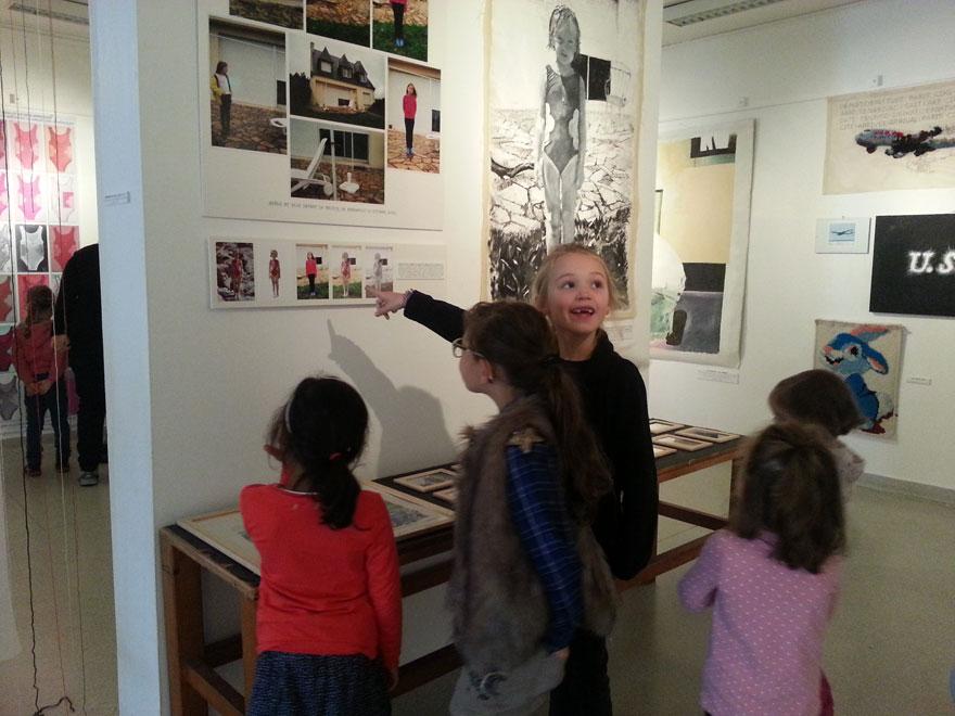 Rencontre avec les enfants de la Maison pour tous de l'Harteloire de Brest
