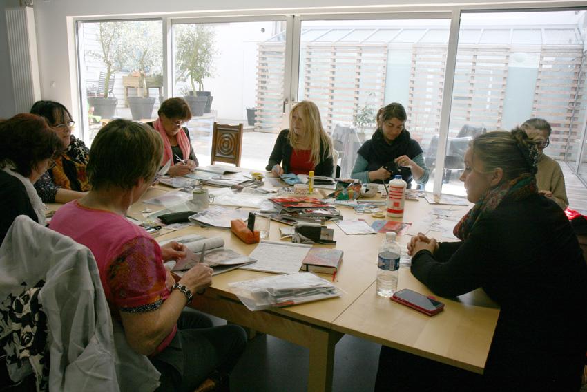 atelier Femme à histoire, histoires de femmes, espace Lcause, mots