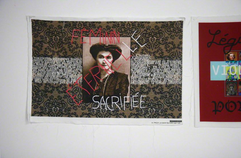 Atelier Femme à histoire, histoires de femmes, espace Lcause, montage, éternelle sacrifiée