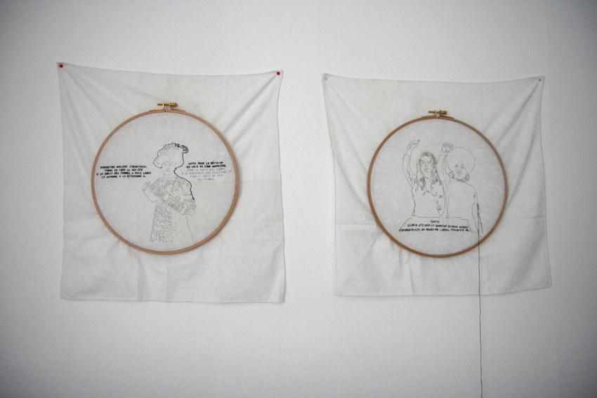 Atelier Femme à histoire, histoires de femmes, espace Lcause, militantes féministes