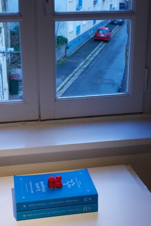 Vue de l'exposition [lcause s'expose], la maison rouge, Maison de la Fontaine, Brest, novembre 2015 à janvier 2016
