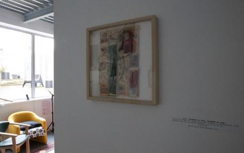 Vue de l'exposition [lcause s'expose], Maison Pour Toutes L'cause, Brest, novembre 2015 à janvier 2016