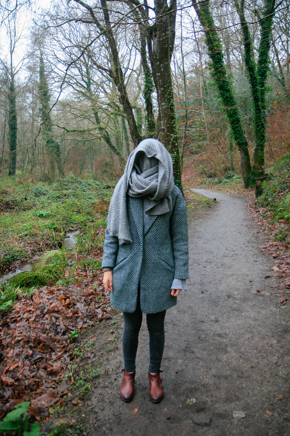 Adèle, bois de Keroual, 21 décembre 2016, Marie-Claire Raoul