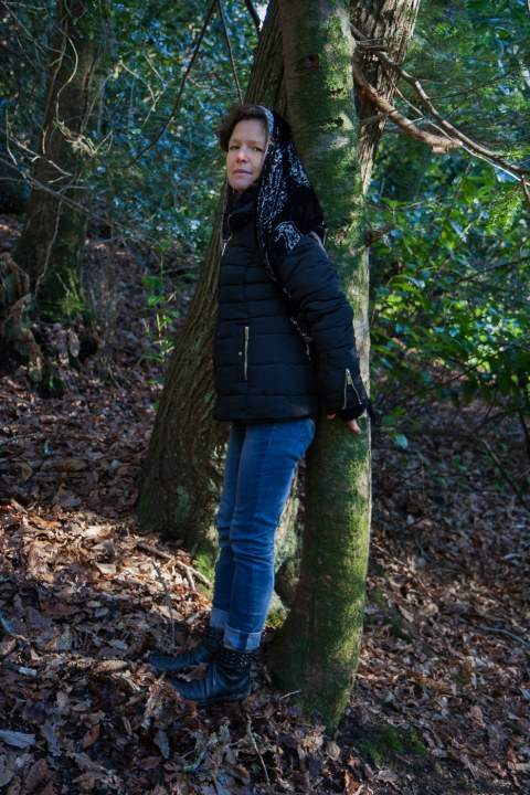 Armelle, bois de Kerhoual, 18 janvier 2017