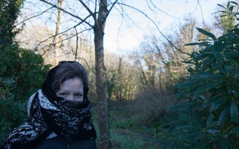 Armelle, Bois de Kerhoual, 18 janvier 2017, Marie-Claire Raoul