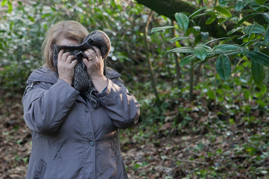 Irène, Bois de Keroual, 17 janvier 2017, parcours photographique, Marie-Claire Raoul