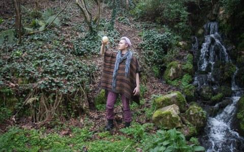 Jérémie, bois de Kerhoual, 27 février 2017, photographies Marie-Claire Raoul