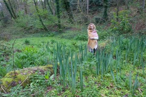 A., bois de Kerhoual, 4 avril 2017, photographies de Marie-Claire Raoul