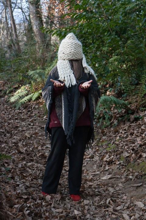 Marie-Odile, bois de Kerhoual, 24 janvier 2017, série photographique