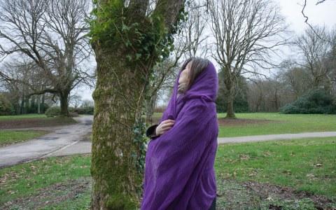 Vanessa, bois de Kerhoual, 13 février 2017, photographies de Marie-Claire Raoul