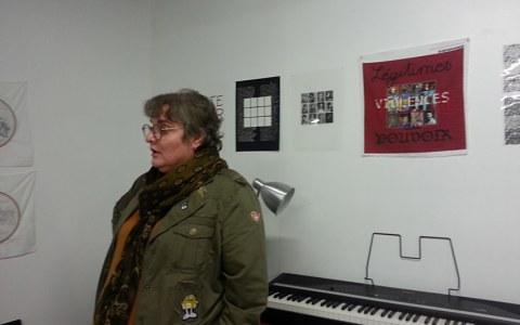 Baliz de Brest, 7 et 8 octobre 2017, atelier de Marie-Claire Raoul