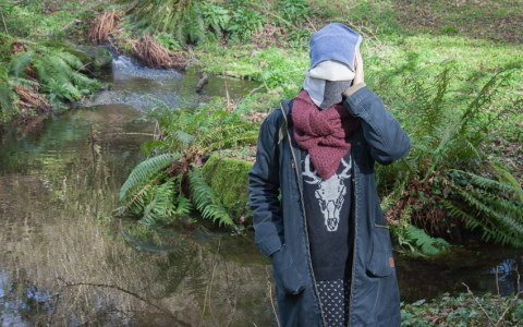 Anna, bois de Keroual, 23 février 2017, série photographique