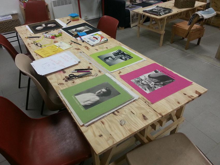 Atelier #3 Paroles et images de femmes, 27 janvier 2018, Rosa Luxembur, Rosa Parks, Orlan, Marie-Claire Raoul, Local de la Pointe, Brest