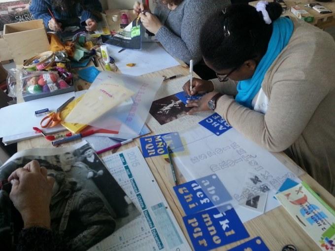 Atelier #4 Paroles et images de femmes, 3 février 2018, Marie-Claire Raoul, Local de la Pointe, Brest