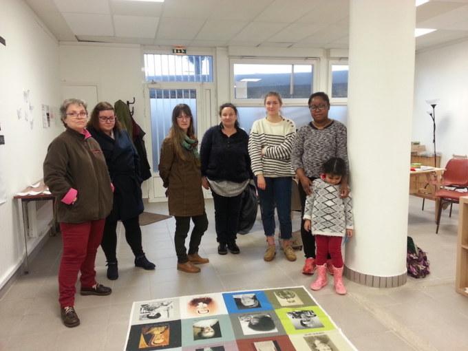 Atelier #2 Paroles et images de femmes, 27 janvier 2018, Marie-Claire Raoul, Local de la Pointe, Brest