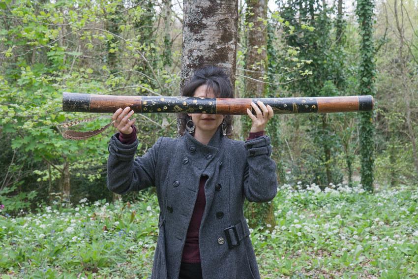 Béatrice, bois de Keroual, 14 avril 2017, série photographique