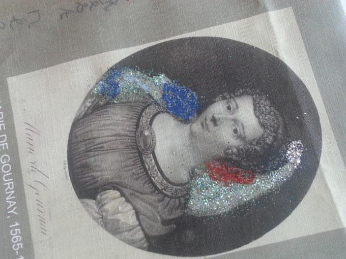 Atelier #6 Paroles et images de femmes, 17 février 2018, Cynthia, Marie de Gournay, Marie-Claire Raoul, Local de la Pointe, Brest